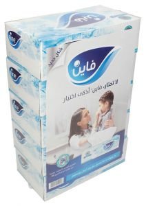 Fine Classic 2-PLY Tissue Box