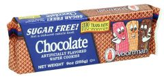 Voortman Sugar Free Chocolate Wafer Cookies  255G |?sultan-center.com????? ????? ???????