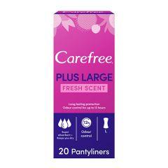 Carefree Plus Large Fresh Panty Liners