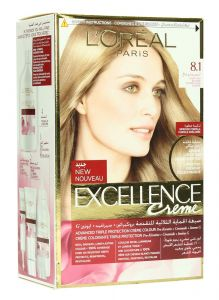 L'Oreal Paris Excellence Creme 8.1 Light Ash Blonde Hair Color 1Pc |sultan-center.comمركز سلطان اونلاين
