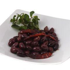 Kalamata Olives With Chili & Herbs  150G |sultan-center.comمركز سلطان اونلاين