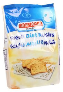 Americana Fresh Diet Rusks 350g |?sultan-center.com????? ????? ???????