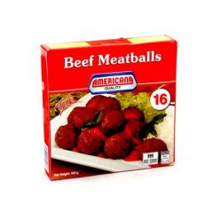 Americana Beef Meatballs