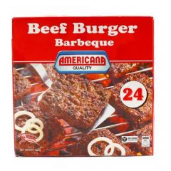 Americana Squared Beef Burger Barbeque