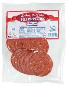 Americana Pre-Cooked Beef Pepperoni 105g |sultan-center.comمركز سلطان اونلاين