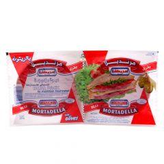 Americana Dual Pack Olives Beef Mortadella