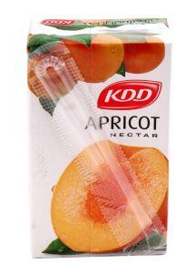 Kdd Apricot Nectar  250Ml  sultan-center.comمركز سلطان اونلاين