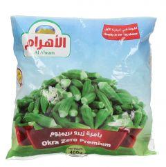 Al Ahram Okra Zero Premium  400g |?sultan-center.com????? ????? ???????