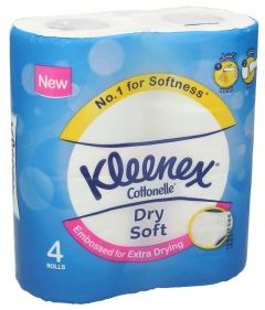 Kleenex Dry Soft Bathroom Tissues