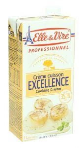 Elle & Vire Excellence Cooking Cream  1L |?sultan-center.com????? ????? ???????