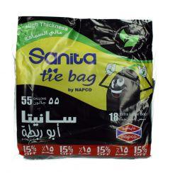 Sanita Napco 55 Gallons Tie  18Bags |?sultan-center.com????? ????? ???????
