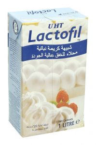 Lactofil UHT Premium Sweetened Whip Topping Creme 1L |?sultan-center.com????? ????? ???????