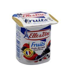 Elle & Vire Mixed Berries Fruits Dessert 125G |?sultan-center.com????? ????? ???????