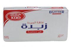 Kdd Unsalted Premium Butter  200g |?sultan-center.com????? ????? ???????