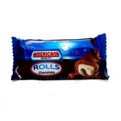 Americana Chocolate Coated Vanilla Mini-Roll  25G |?sultan-center.com????? ????? ???????