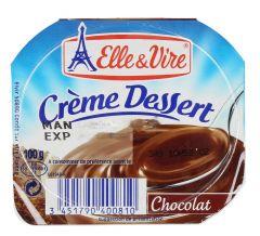 Elle & Vire Chocolate Dessert  250ml |?sultan-center.com????? ????? ???????