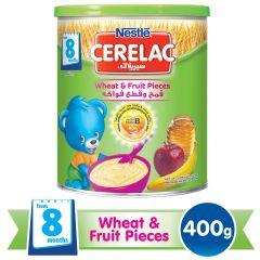 Nestle Cerelac Wheat & Fruit Pieces +8Months
