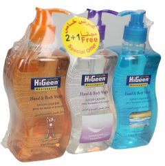 Higeen Antiseptic Assorted Hand & Body Wash
