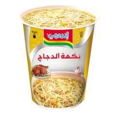 Indomie Chicken Flavoured Instant Cup Noodles 60G |sultan-center.comمركز سلطان اونلاين
