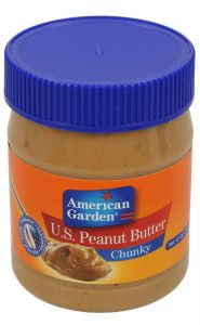 American Garden Peanut Butter Chunky spread