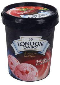 London Dairy Strawberry Ice Cream
