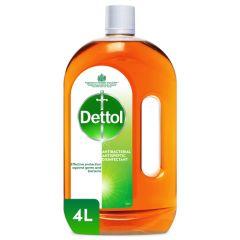 Dettol Antibacterial Antiseptic Disinfectant Liquid 4L |sultan-center.comمركز سلطان اونلاين