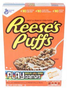 General Mills Reese's Puffs Cereal 386g |sultan-center.comمركز سلطان اونلاين