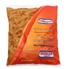 Americana Pommes Frites Pre-Fried French Fries 2.5Kg |?sultan-center.com????? ????? ???????