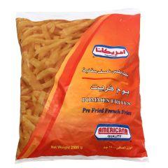Americana Pommes Frites Pre-Fried French Fries 2.5Kg |sultan-center.comمركز سلطان اونلاين