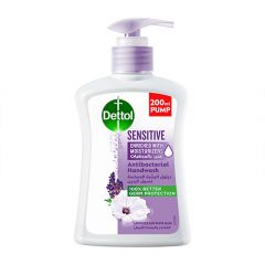 Dettol Sensitive Anti-Bacterial Hand Wash 200Ml |?sultan-center.com????? ????? ???????