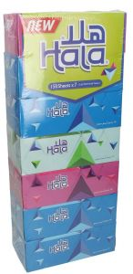Hala 2 Ply Facial Tissue