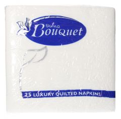 Sanita Luxury Quilted Napkins  25pcs | sultan-center.com مركز سلطان اونلاين