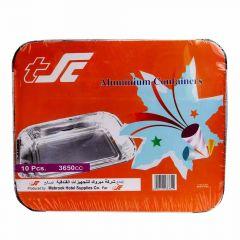 Sultan 3650CC Aluminium Containers  10Pcs |?sultan-center.com????? ????? ???????