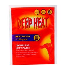 Deep Heat Regular Heat Patch 1Pc |?sultan-center.com????? ????? ???????