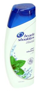 Head & Shoulders Refreshing Anti-Dandruff Shampoo With Menthol 200Ml |?sultan-center.com????? ????? ???????
