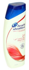Head & Shoulders 2In1 Lively & Silky Anti Dandruff Shampoo  400Ml |?sultan-center.com????? ????? ???????