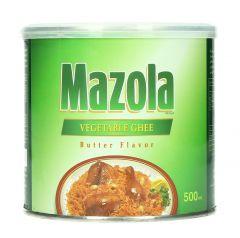 Mazola Vegetable Ghee Butter Flavor 500Ml |sultan-center.comمركز سلطان اونلاين
