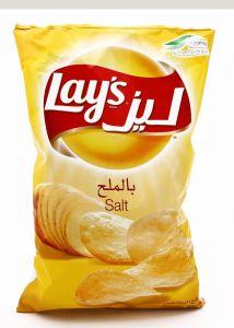 Lays Salt Potato Chips 170G |?sultan-center.com????? ????? ???????