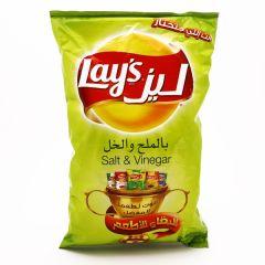 Lays Salt & Vinegar Potato Chips 170G |?sultan-center.com????? ????? ???????