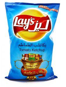Lays Ketchup Potato Chips 170G |?sultan-center.com????? ????? ???????
