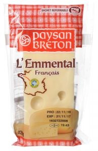Paysan Breton Emmental Cheese 220g |?sultan-center.com????? ????? ???????