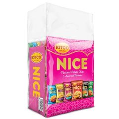 Kitco Nice Natural potato Chips 6 Assorted Flavors