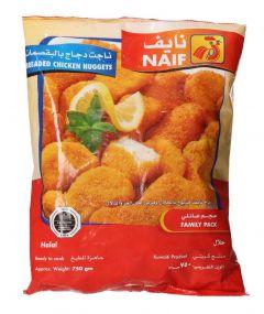 Naif Breaded Chicken Nuggets 750g |sultan-center.comمركز سلطان اونلاين