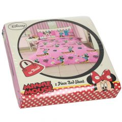 Disney Mini Mouse 2 Pieces Bedsheets