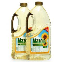 Mazola Sunflower Oil 1.8L X 2Pcs  sultan-center.comمركز سلطان اونلاين
