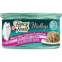 Fancy Feast Elegant Medleys White Meat Chicken Florentine
