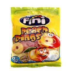 Fini Peach Rings Gummy Jellies 100G |?sultan-center.com????? ????? ???????