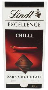 Lindt Excellence Chilli Dark Chocolate 100G |?sultan-center.com????? ????? ???????