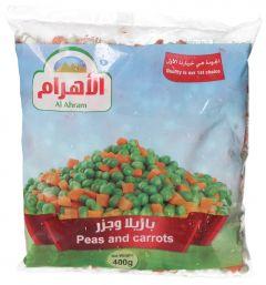 Al Ahram Frozen Peas & Carrots 400g |?sultan-center.com????? ????? ???????
