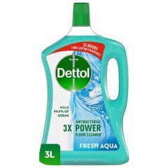 Dettol 4-In-1 Aqua Multi-Action Disinfectant Cleaner 3L |sultan-center.comمركز سلطان اونلاين